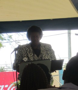 Director of Education Mrs. Jacintha Pringle