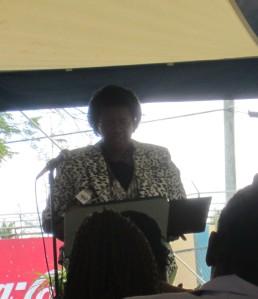 Director of Education Mrs. Jacintha Pringle