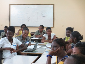 Teacher training in Antigua, West Indies.